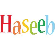 Haseeb birthday logo
