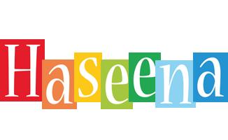 Haseena colors logo