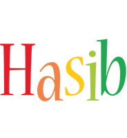 Hasib birthday logo