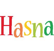 Hasna birthday logo