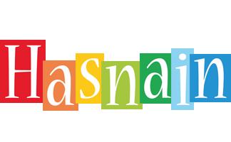 Hasnain colors logo