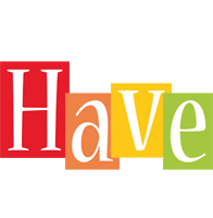 Have colors logo