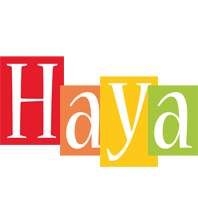Haya colors logo