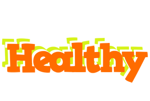HEALTHY logo effect. Colorful text effects in various flavors. Customize your own text here: http://www.textGiraffe.com/logos/healthy/