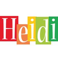 Heidi colors logo
