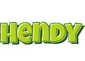 Hendy summer logo