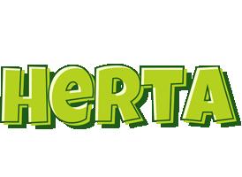 Herta summer logo