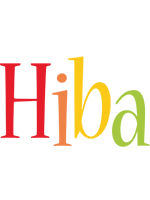 Hiba birthday logo