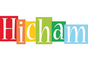 Hicham colors logo