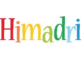 Himadri birthday logo