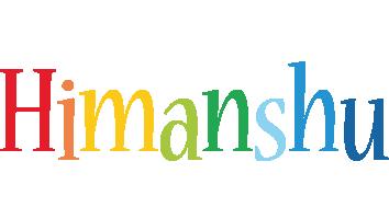 Himanshu birthday logo
