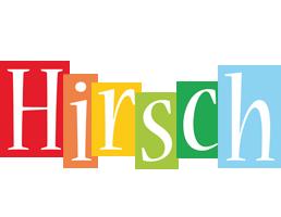 Hirsch colors logo