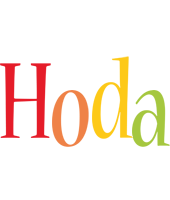 Hoda birthday logo