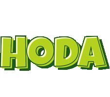 Hoda summer logo
