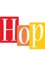 Hop colors logo