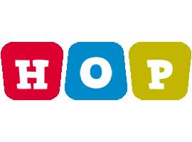 Hop kiddo logo