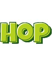 Hop summer logo