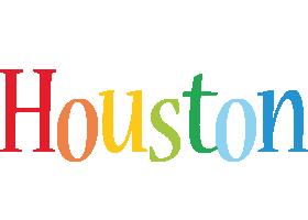 Houston birthday logo