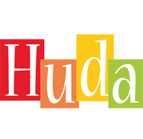 Huda colors logo