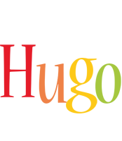 Hugo birthday logo