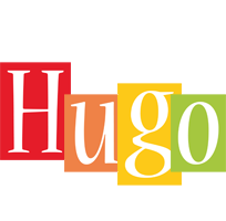 Hugo colors logo