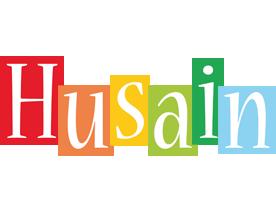 Husain colors logo