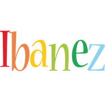 Ibanez birthday logo