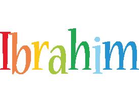 Ibrahim birthday logo