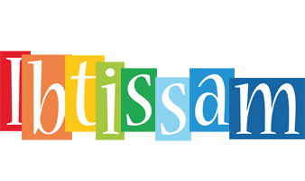 Ibtissam colors logo