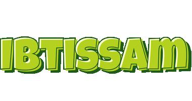 Ibtissam summer logo