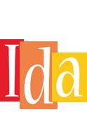 Ida colors logo