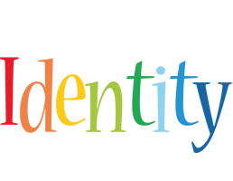 Identity birthday logo