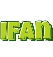 Ifan summer logo