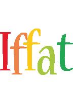 Iffat birthday logo