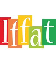 Iffat colors logo