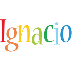 Ignacio birthday logo