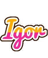 Igor smoothie logo