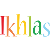 Ikhlas birthday logo