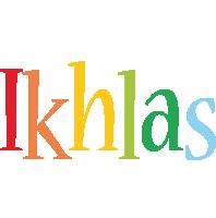 Ikhlas birthday logo