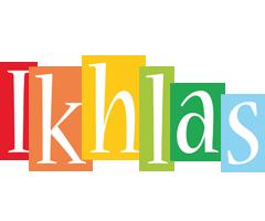 Ikhlas colors logo