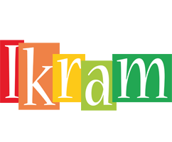 Ikram colors logo