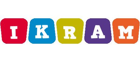 Ikram kiddo logo