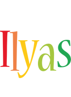 Ilyas birthday logo