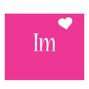 Im Logo | Name Logo Generator - I Love, Love Heart, Boots, Friday ...