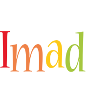 Imad birthday logo