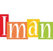Iman colors logo