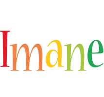 Imane birthday logo