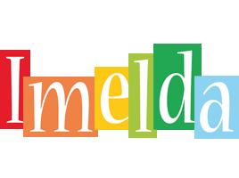 Imelda colors logo