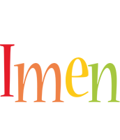 Imen birthday logo