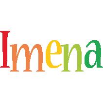 Imena birthday logo
